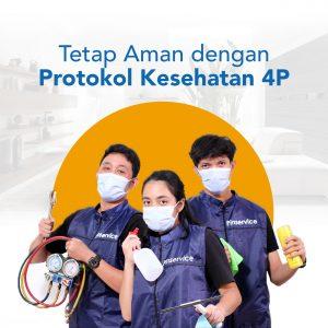 Layanan Kebersihan dengan Protokol Kesehatan Terjamin