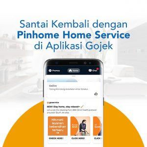 Layanan Kebersihan GoService di Aplikasi Gojek